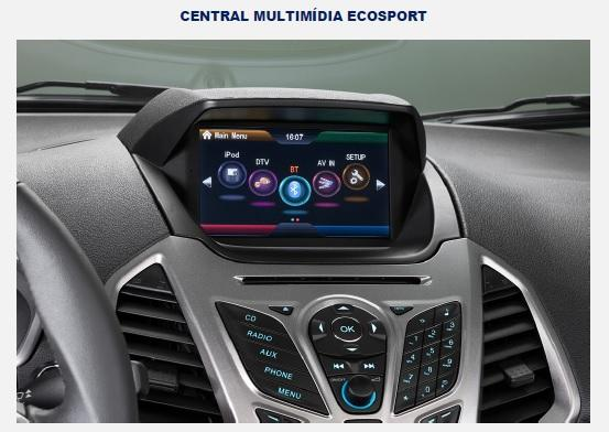 CENTRAL MULTIMÍDIA ECOSPORT
